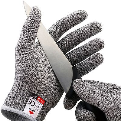 NoCry Cut Resistant Gloves - High Performance Level 5 Protection Food Gra... New