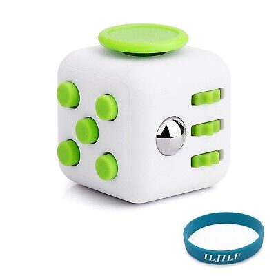Fidget toys Cube for Fidgeters! Relieve Stress Anxiety and Boredom all at... New