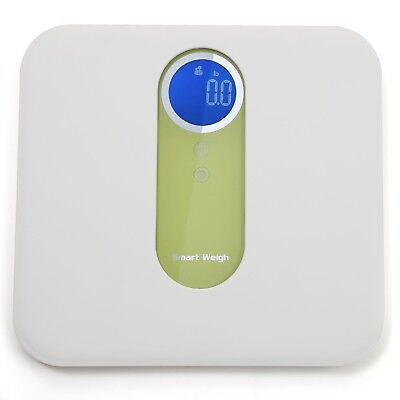 Digital Mother and Baby Bathroom Scale with Ultra Wide Platform Step-on T... New