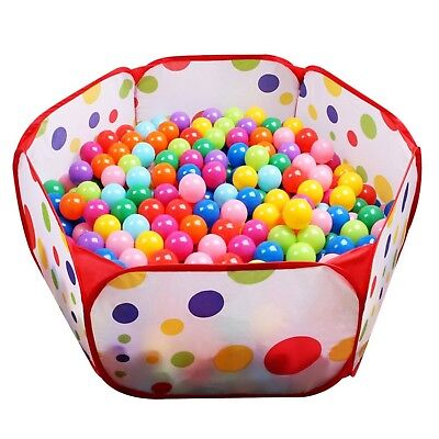 Kids Ball Pit EocuSun Large Pop Up Toddler Ball Pits Play Tent for Toddle... New