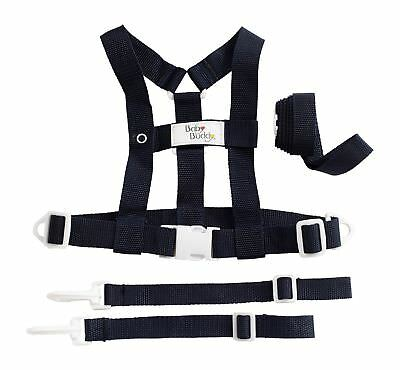 Baby Buddy Deluxe Security Harness Navy New