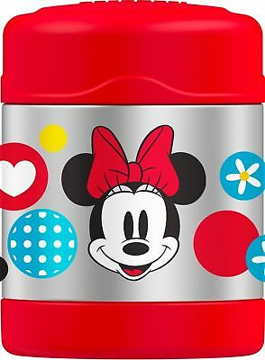 THERMOS Funtainer 10 Ounce Food Jar Minnie Mouse New