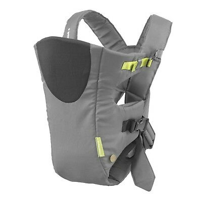 Infantino Breathe Vented Carrier Grey Gray New
