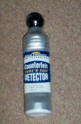 """"""""""" Counterfeit Dollar Bills Detector  Fluid""""""""  >Great Try It First Price<"""