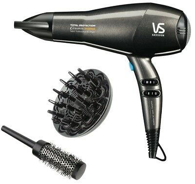 NEW VS Sassoon VSP420A Ceramic Intense 2300W Professional Hair Dryer