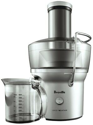 NEW Breville BJE200SIL Juice Fountain 900W