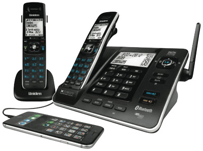 NEW Uniden XDECT8355+1 Cordless Phone Twin Pack