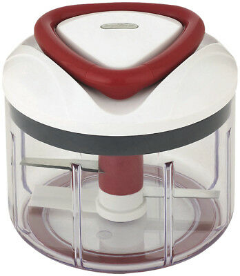 NEW 70588 Zyliss Easy Pull Manual Food Processor