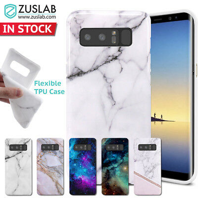 Galaxy Note 8 Case for Samsung Genuine Zuslab Soft TPU Flexible Silicone Cover