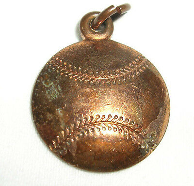 "Vintage Baseball Pendant, 1956, ""The Knights of Columbus - Grotto"", 11/16"""