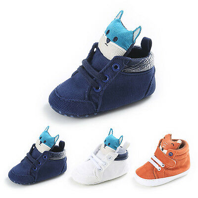 Winter Newborn Infant Toddler Baby Boy Girl Kid Soft Sole Anti-slip Shoe Sneaker