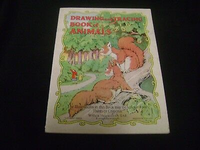Drawing And Tracing Book Of Animals Ladybird Series Wills Hepworth