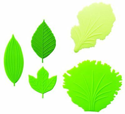 Japanese Bento Lunch accessories Leaf & Lettuce Silicon Food Divider Ba... Japan