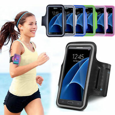 Samsung Galaxy Note 5 4 3 S7 S8 Armband Sport GYM Running Exercise Case