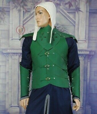 Forest Elven Ranger Leather Armour Cosplay LARP