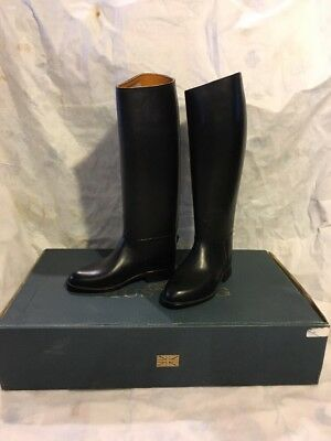 Shires Mustang PVC Top Boots Women's 35 Wide - Brand New!!