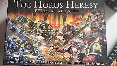 Horus Hersy Betrayal at Calth with Sons of Horus upgrades (partially assembled)