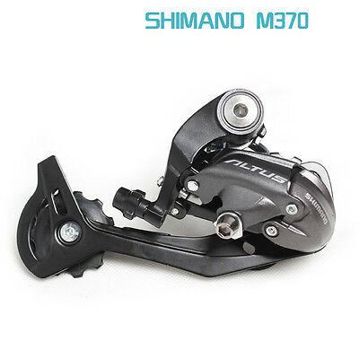 Shimano Altus RD-M370-SGS Rear Mech - Derailleur long 9-speed - Black
