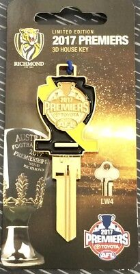 Richmond Tigers 2017 Premiership LE Numbered House Key-IN STOCK NOW!