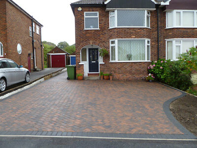 1 x professional stone slab paver and 1 x labourer day hire inc all paving tools