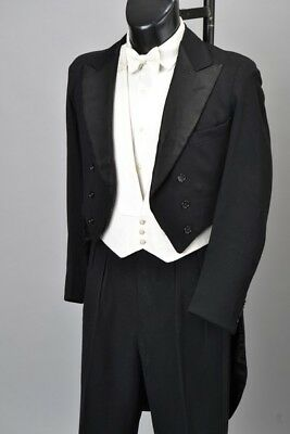 Charge Of The Light Brigade Descendant 1931 White Tie EveningDress Tailcoat AQJ