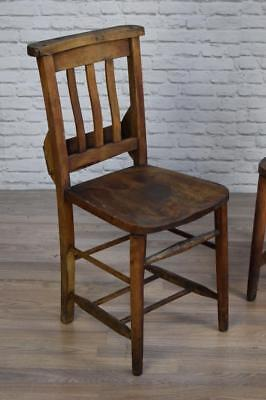 Antique Vintage Church Chapel Cafe Bar Kitchen Chairs (50 AVAILABLE)
