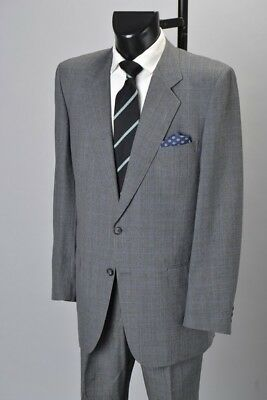 Gieves & Hawkes Savile Row Prince Of Wales Check Lounge Suit. VAB