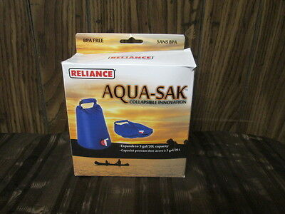 Reliance Nylon Aqua-Sak Water Container Collapsible Innovation 5 Gallon 1507-03
