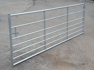 Farm Field Gate 7 Rail Metal Galvanised Gate