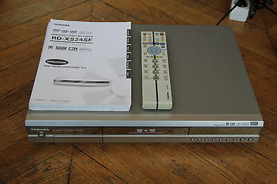 Toshiba RD-XS24SF DVD/HDD Enregistreur 160 Go Video Recorder dts DIVX R/RW Arent