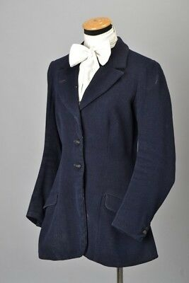 Foxhunting Ladies Tailored 1930s' Hunt Fieldcoat. W.Somerset Hunt Buttons. CLB