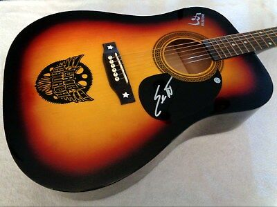 ERIC CHURCH Autographed Signed Acoustic Guitar w/ COA - NEW, NO RESERVE!