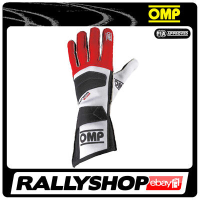 FIA OMP TECNICA EVO RACE Karthandschuh Handschuhe Professionell Rally Motorsport