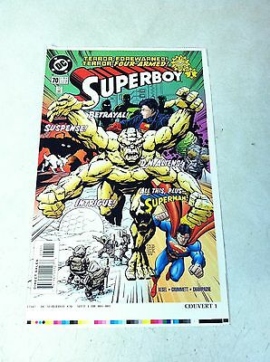SUPERBOY #70 COVER ART approval cover proof SUPERMAN, D.N.ALIENS