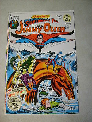 SUPERMANS PAL JIMMY OLSEN #144 KIRBY, COVER ART approval cover proof 1970'S