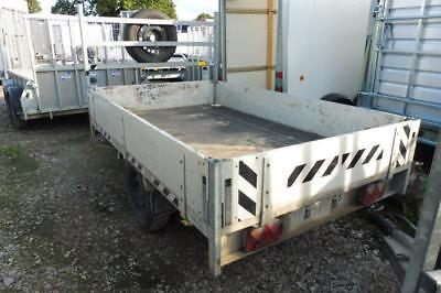 Used Anssems 8x4 single Axle general duty Trailer