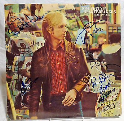 Tom Petty Signed Autographed Record Tom Petty And The