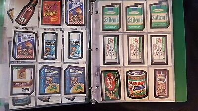 149 Wacky Packages stickers