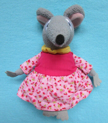 Fab Retro Bagpuss Singing *lizzie* Mouse Plush Soft Toy With Tag