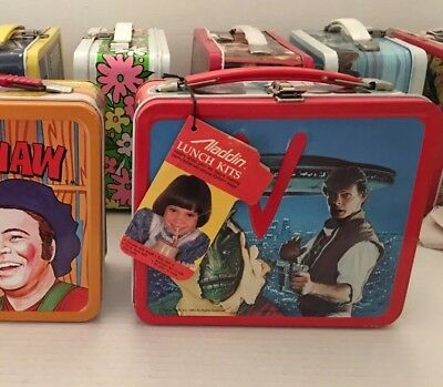 V Vintage Metal Lunchbox & Thermos Mint Unused Tag Private Collection