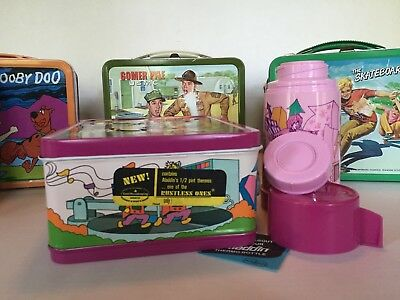 Bugaloos Vintage Metal Lunchbox & Thermos Mint Unused Tag Private Collection