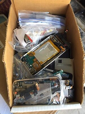 3lbs+ Box Lot Iphone 3gs Parts And Pieces