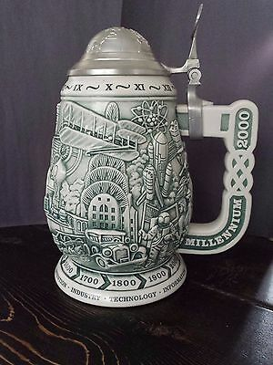 Avon Millennium Beer Stein - 1999 (Collectible - Mint Condition)