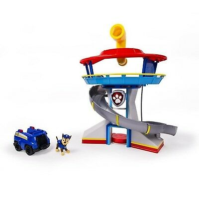 Paw Patrol Lookout Tower Chase Pup Kids Children Action Toy Figure Playset Gift