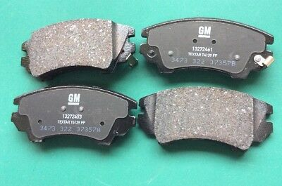 Genuine Vauxhall GM Insignia Opel Front Brake Pads 95520061 95514526 LB9 325mm