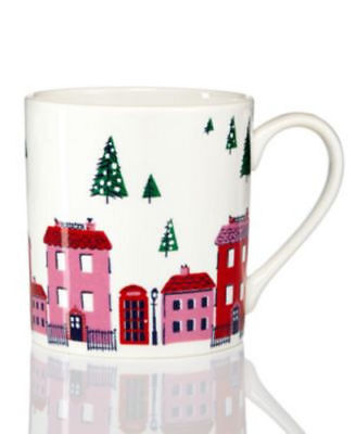 kate spade New York Arbor Village Mug, Only at Macy's