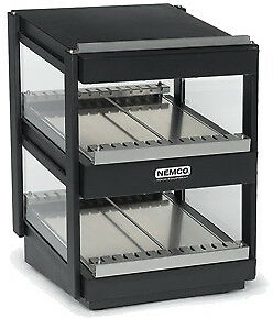 "NEMCO HORIZONTAL, DUAL SHELF, 24"", BLACK Model 6480-24-B"