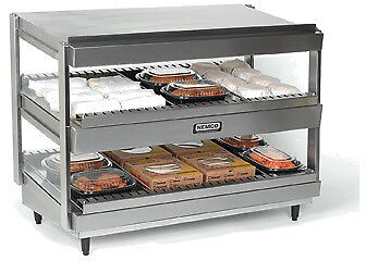 "NEMCO SLANTED, DUAL SHELF, 30"", STAINLESS Model 6480-30S"