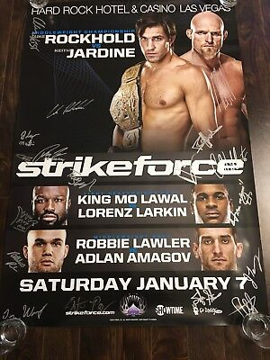 Strikeforce SBC Poster Lot, Cyborg, Ronda Rousey, Mousasi, Challengers, UFC