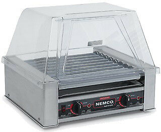 Nemco Food Equipment 18 Hot Dog Roller Grill, 18.5 x 16.25 x 7 inch -- 1 each.